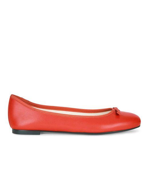 Hobbs - Red Flo Ballerina - Lyst