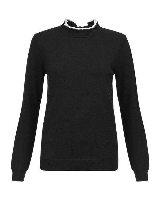 Hobbs | Black Tanya Sweater | Lyst