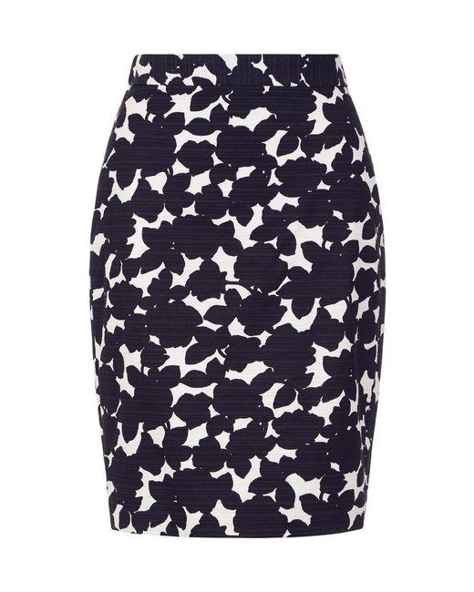 Hobbs - Blue Freya Pencil Skirt - Lyst