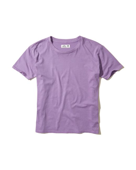 Hollister | Purple Must-have Oversized T-shirt | Lyst