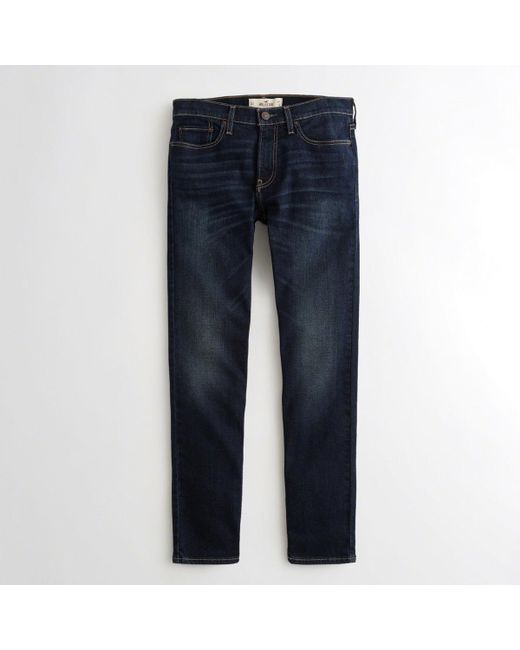 Hollister - Blue Guys Epic Flex Skinny Jeans From Hollister for Men - Lyst