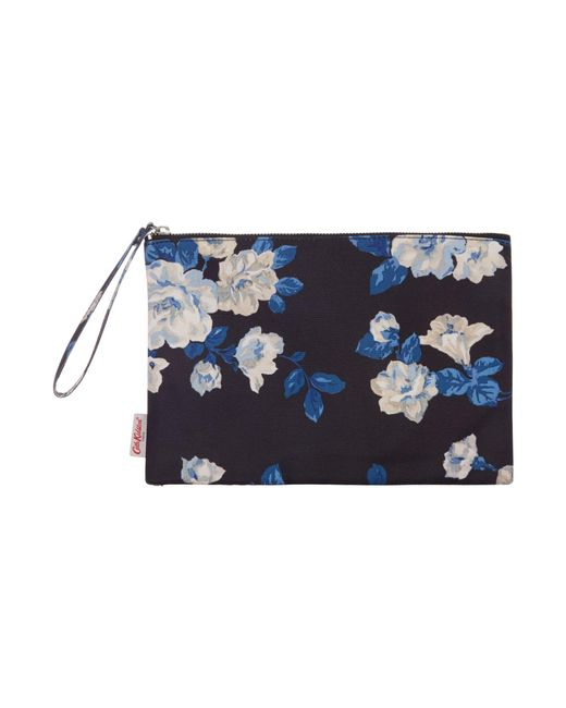 Cath Kidston   Black Crescent Rose Pouch   Lyst