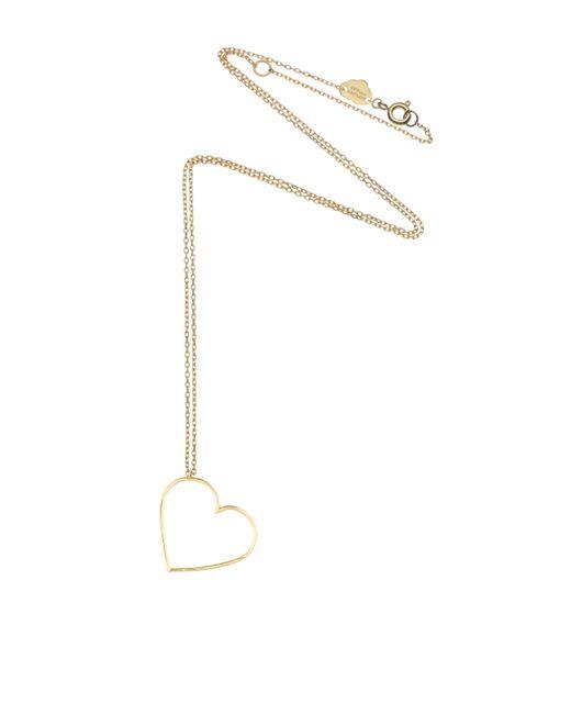 Estella Bartlett | Metallic Seb1482 Heart Necklace | Lyst