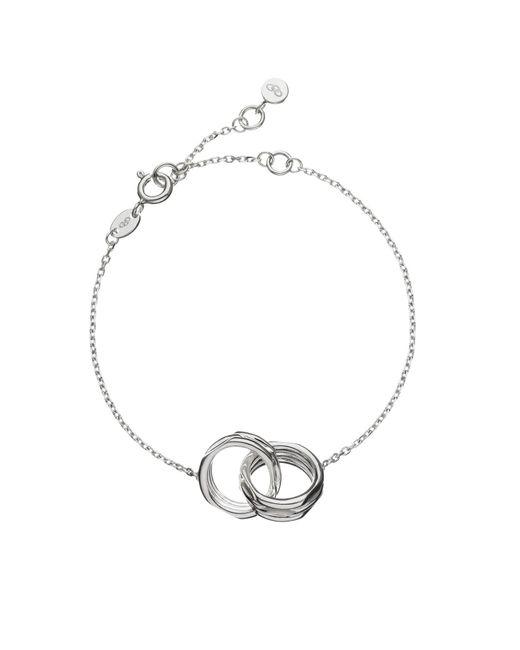 Links of London - Metallic 20-20 Interlocking Bracelet - Lyst