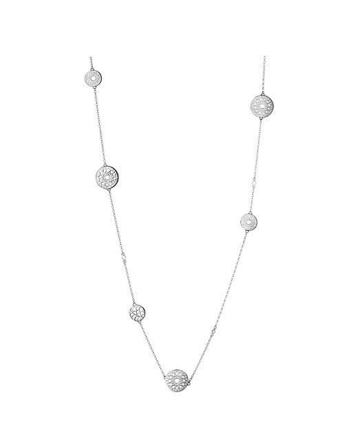 Links of London - Metallic Timeless Silver Multi Station Necklace - Lyst