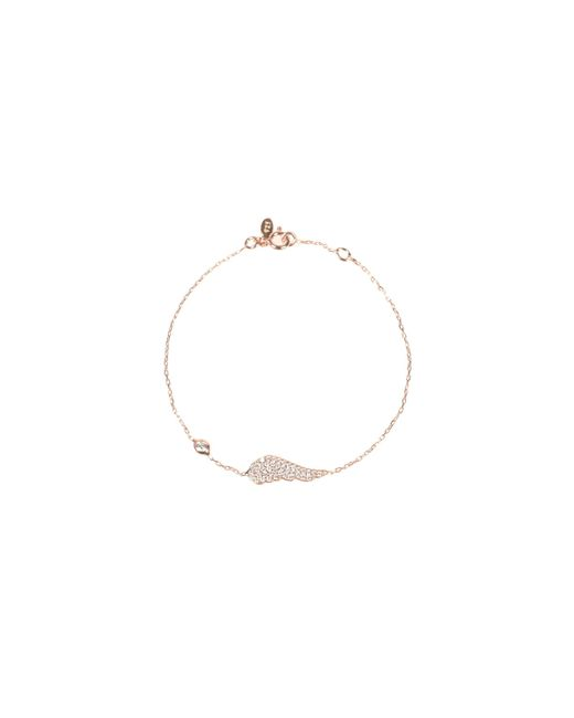 Latelita London   Metallic Angel Wing Bracelet Rosegold   Lyst