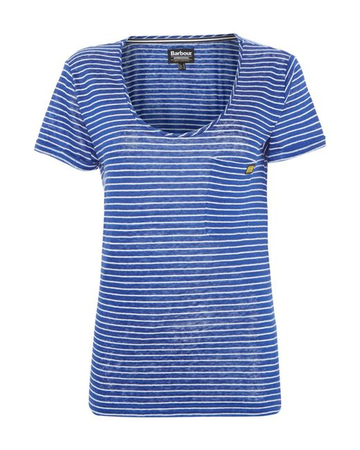 Barbour | Blue International Sullivan Top | Lyst