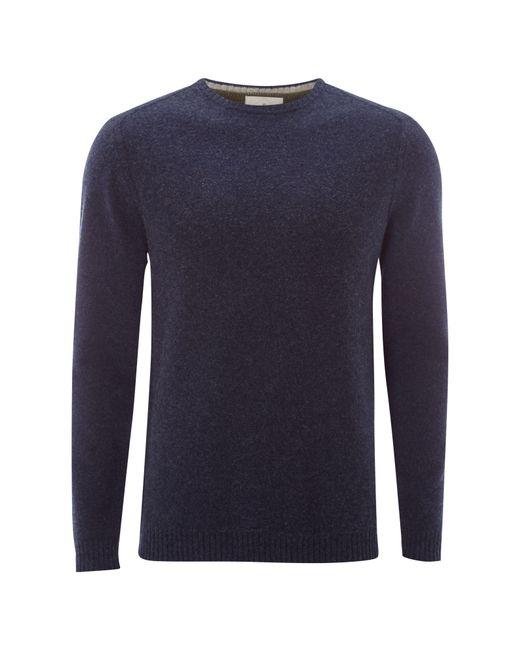 White Stuff - Blue Back Stop Crew Knit for Men - Lyst