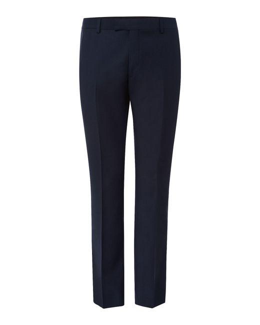 Howick - Blue Darby Birdseye Slim Fit Trouser for Men - Lyst
