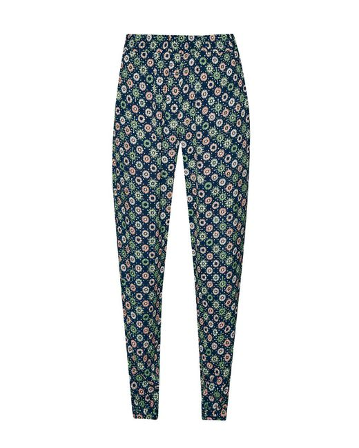 French Connection | Green Medina Tile Printed Joggers | Lyst