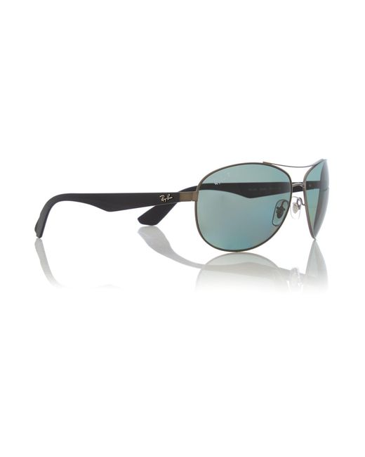 Ray-Ban - Gray 0rb3526 Pilot Sunglasses for Men - Lyst