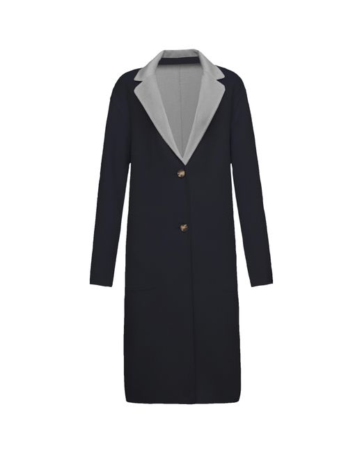 Tommy Hilfiger - Blue Giselle Reversible Wool Coat - Lyst