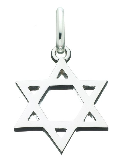 Links of London | Metallic Star Of David Charm for Men | Lyst