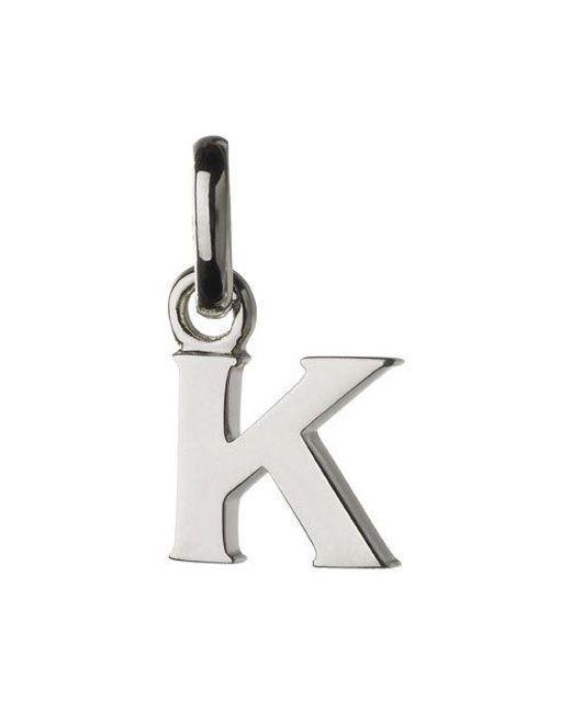 Links of London | Metallic K Charm | Lyst
