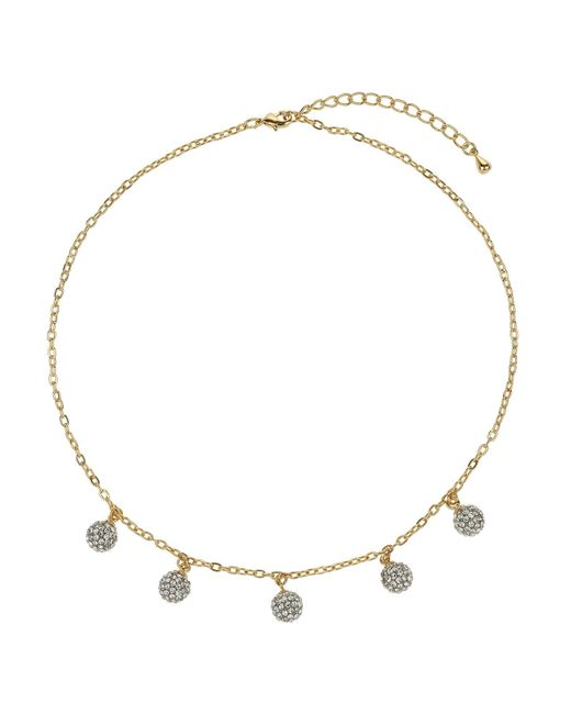 Mikey | Metallic Multi 9mm Ball Necklace | Lyst