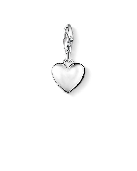 Thomas Sabo | Metallic Charm Club Heart Pendant | Lyst