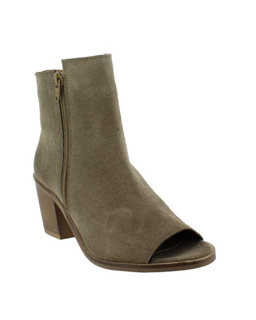 Marta Jonsson | Gray Women`s Peep Toe Ankle Boots | Lyst