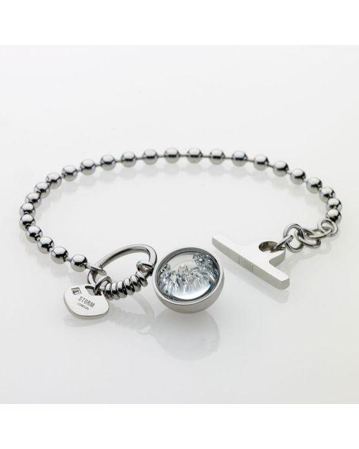 Storm | Metallic Crysta Ball Bracelet | Lyst