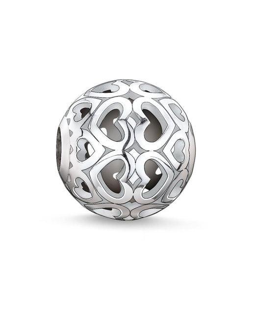 Thomas Sabo | Metallic Karma Beads Bead Hearts | Lyst