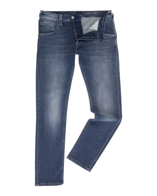 Pepe Jeans   Blue Men's Zinc Pepe Mens Denim Jeans for Men   Lyst
