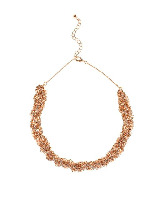 Coast | Metallic Hemera Sparkle Necklace | Lyst