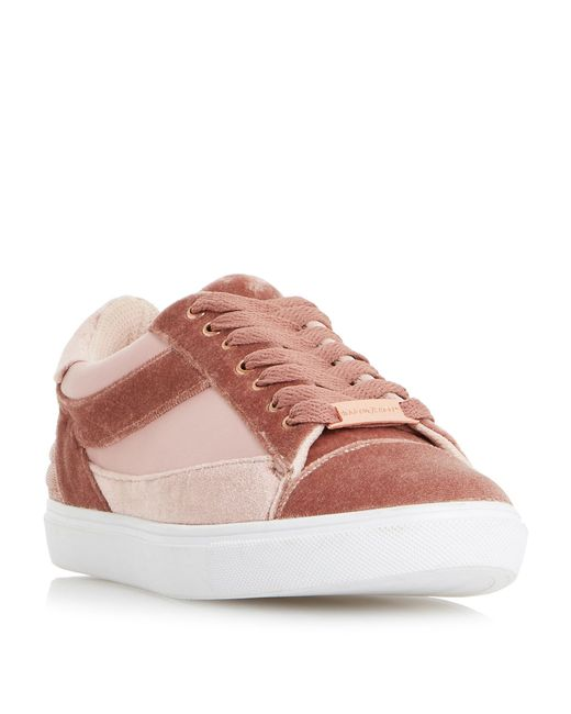 Dune - Pink Elize Mix Material Sport Trainers - Lyst