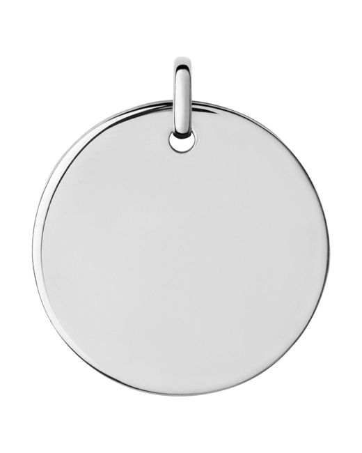 Links of London | Metallic Narrative Large Round Disc Pendant | Lyst