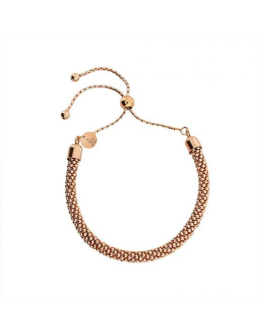 Azendi | Pink Rose Adjustable Popcorn Chain Bracelet | Lyst