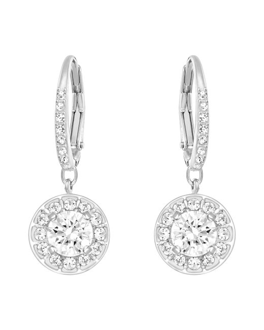 Swarovski   Metallic Attract Earrings   Lyst