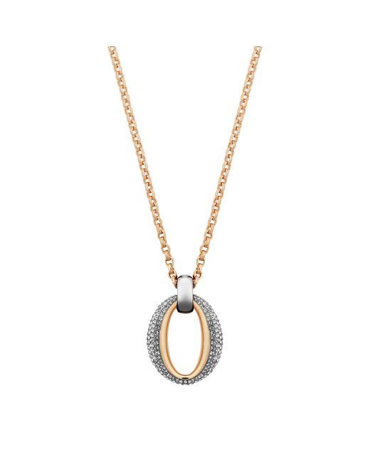 Swarovski   Metallic Circlet Pendant   Lyst
