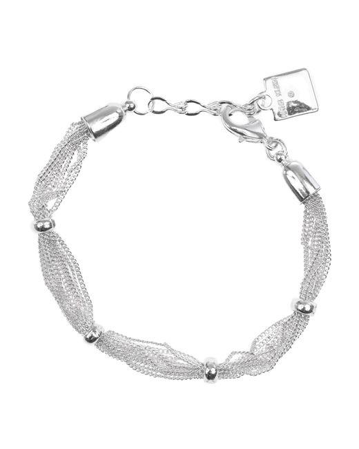 Anne Klein | Metallic Mesh Strand Bracelet | Lyst