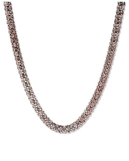 Anne Klein | Metallic Silver Ball Stud Earrings | Lyst