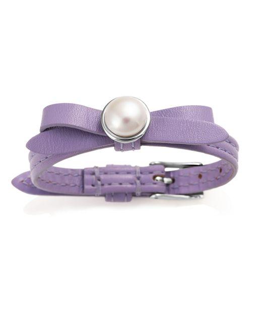 Jersey Pearl | Purple Freshwater Pearl Bracelet | Lyst