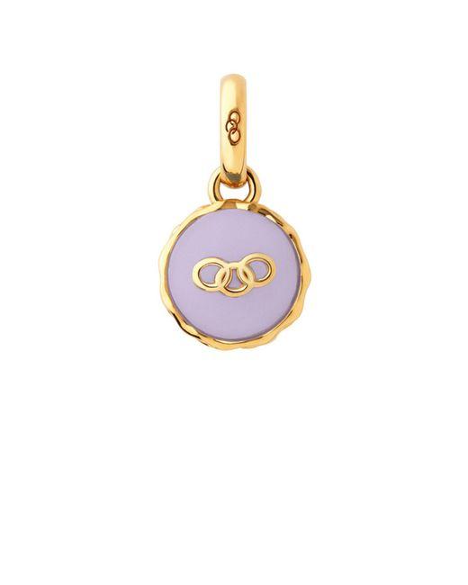 Links of London   Purple Gold Vermeil Lavender Macaron Charm   Lyst
