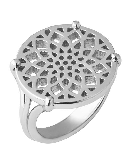 Links of London | Metallic Timeless Sterling Silver Coin Ring- Size N | Lyst