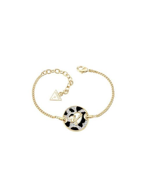 Guess | Metallic Gold Plated Bracelet | Lyst