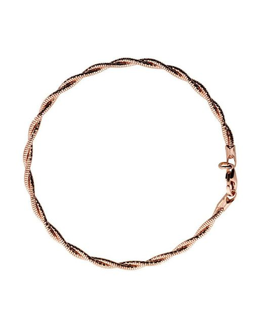 Azendi | Metallic Rose Double Strand Bracelet | Lyst