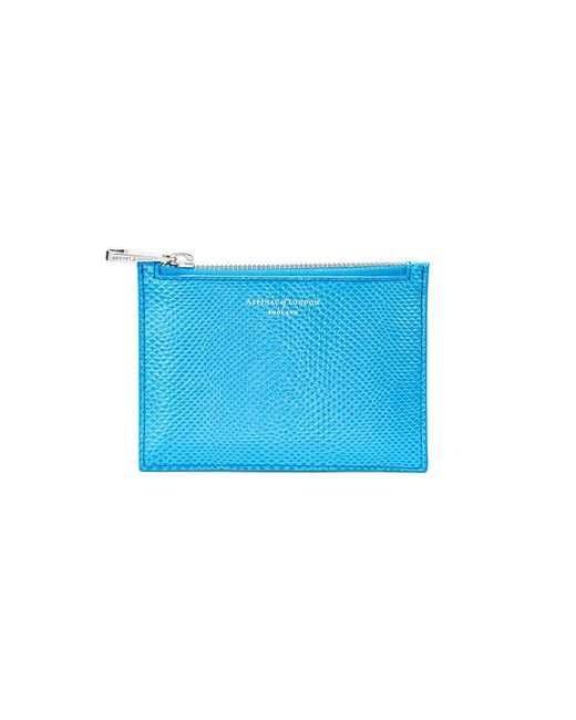 Aspinal | Blue Essential Small Pouch | Lyst