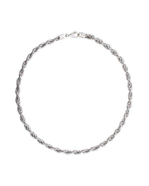 Azendi   Metallic Six-strand Twist Collar   Lyst