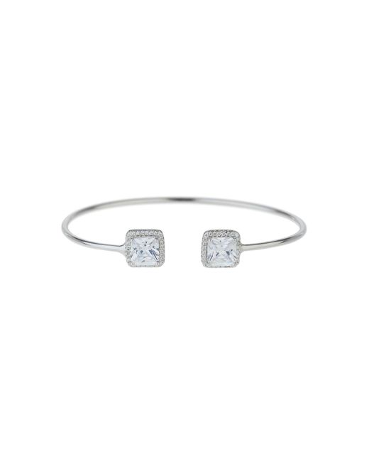 Mikey | Metallic Sterling Silver 925 Twin Square Filigree | Lyst