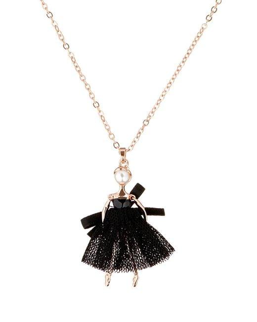 Ted Baker | Metallic Carabel Mini Ballerina Pendant | Lyst
