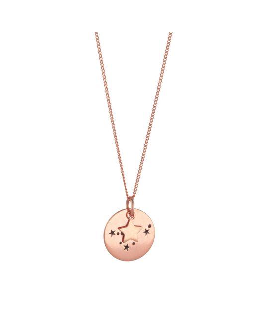 Juvi Designs | Metallic Constellation Rose Gold Pendant | Lyst