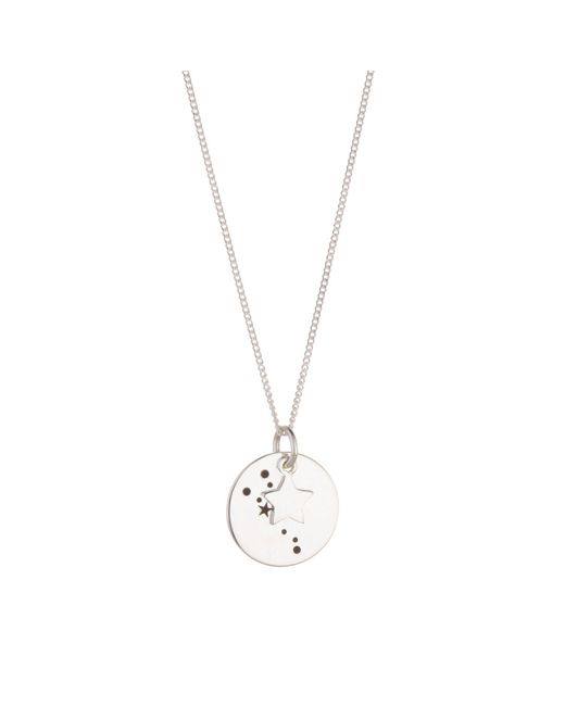 Juvi Designs | Metallic Constellation Silver Pendant | Lyst