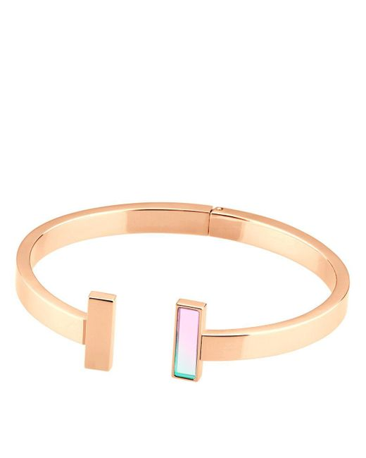 Storm | Pink Tigi Bangle Rose Gold | Lyst