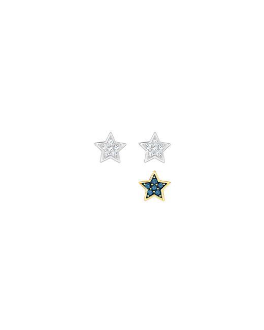 Swarovski | Multicolor Star Pierced Earring Set | Lyst