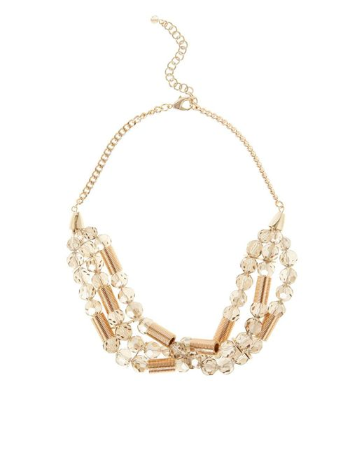 Coast | Metallic Avila Statement Necklace | Lyst
