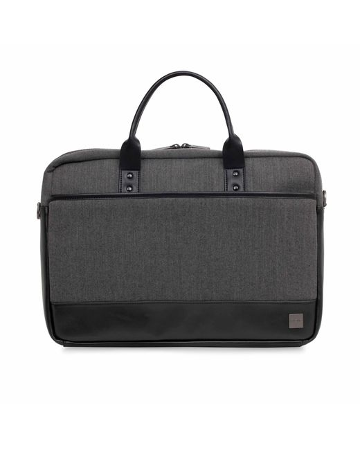Knomo | Black Princeton 15.6 Laptop Toploader for Men | Lyst