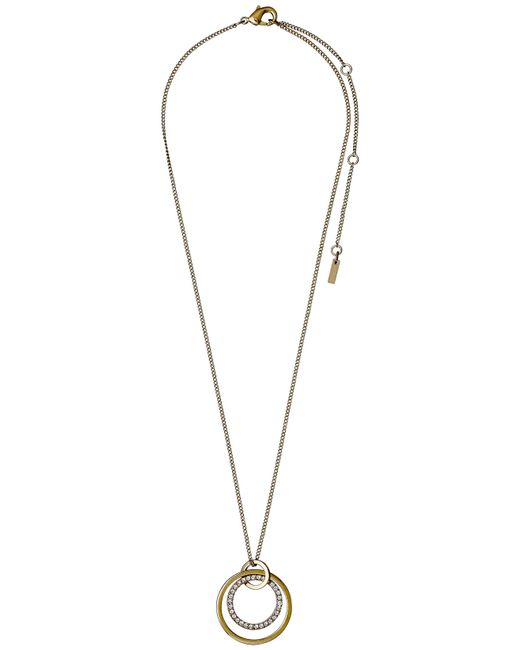 Pilgrim | Metallic Simple And Beautiful Necklace | Lyst