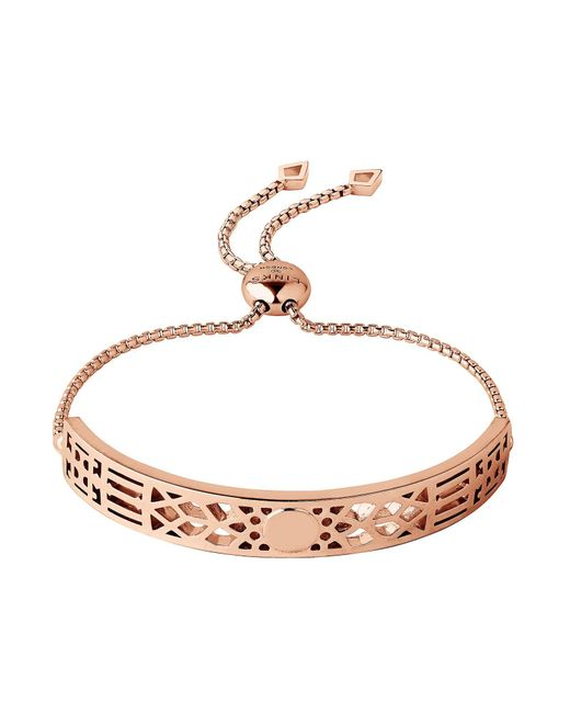 Links of London | Metallic Timeless Engraved Bracelet | Lyst