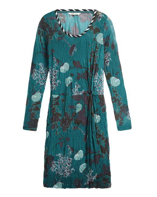 Sandwich - Green Abstract Print Mesh Dress - Lyst